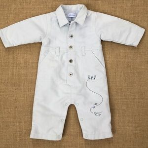 Jacadi utility coveralls size 3 months